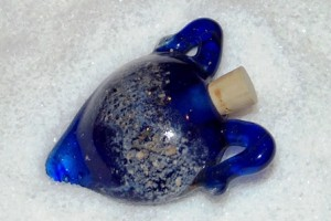 Glass Pet Cremation Jewelry